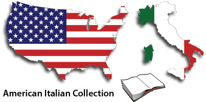 American Italian website header